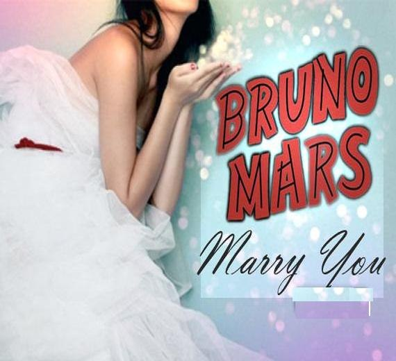 Marry You Bruno Mars