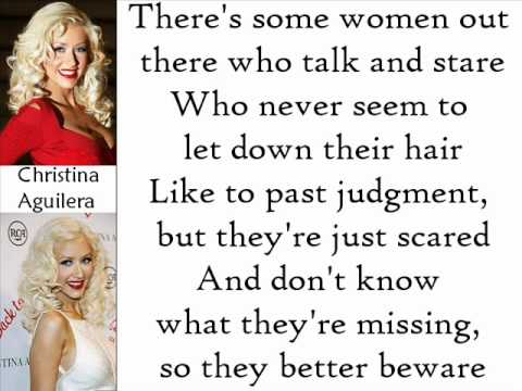 Christina Aguilera - Still Dirrty (Lyrics On Screen)