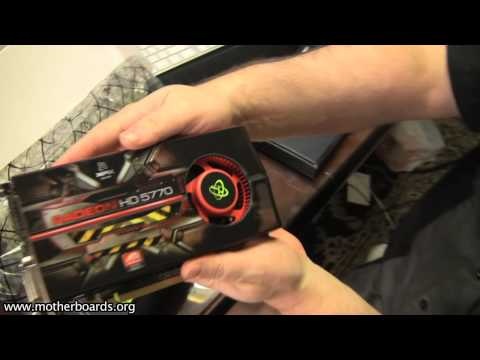 XFX ATI Radeon 5770 & 5750 Unboxing Video