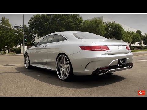 "2016 Mercedes Benz S550 4MATIC Coupe 24"" Lexani Wheels"