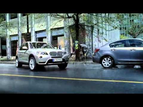 The new 2011 BMW X3 TV Ad