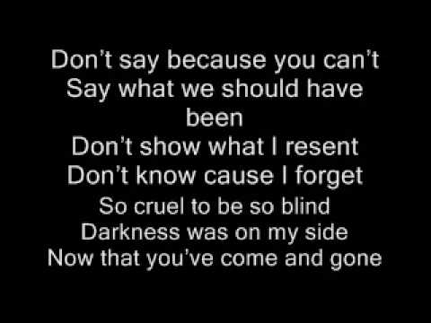 finger eleven stay in shadow lyrics
