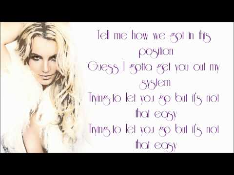 Britney Spears - Inside Out (Lyrics)