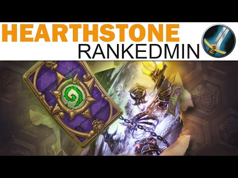 Hearthstone - Rankedmin - #26 - MORE Tempo Warrior (Season 4: The Dread Necropolis)