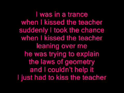 Abba - When I kissed the teacher - Lyrics