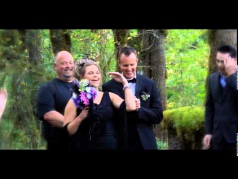 Twilight Style Wedding in Forks, Washington