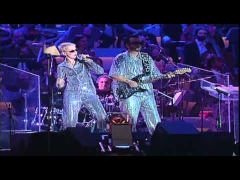 There must be an angel (Live). Pavarotti & Eurythmics (HD)
