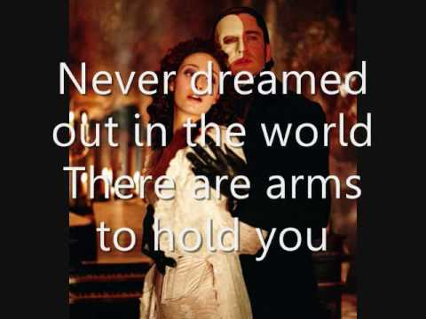 Phantom of the Opera-learn to be lonely