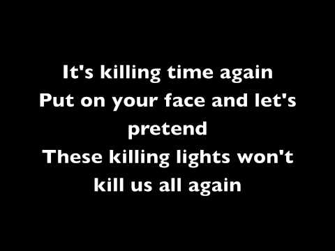 AFI - The Killing Lights Lyrics