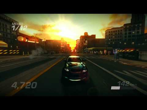 Ridge Racer Unbounded 2012 Crash And Burn Race Gameplay (PC)
