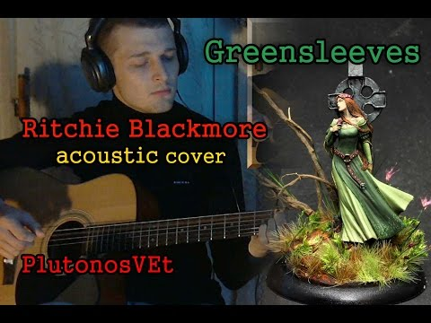 Blackmore's Night - Greensleeves (acoustic guitar cover) with GTP