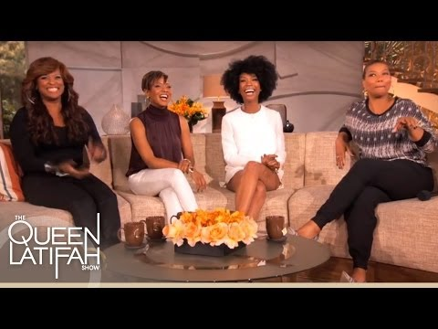 Brandy, MC Lyte, Yo-Yo and Queen Latifah Reunite on The Queen Latifah Show