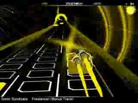 Sonic Syndicate - Freelancer (Bonus Track)  (audiosurf)